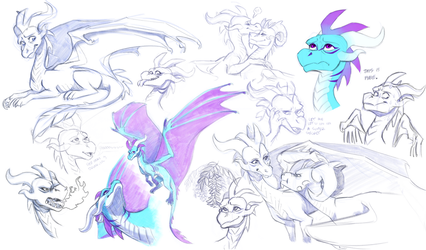 Auz Sketchdump by aacrell