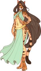 Premade Character Auction - Bengal Cat - Sold by danielleclaire