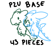[P2U BASE]57 pieces nommer base by Olrum