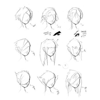 Hair Styles Vol 1 by FabledCreative