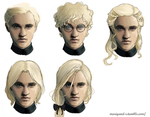 Draco Malfoy. Hairstyles. Part 2 by Mariyand-R