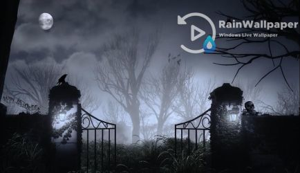 Haunted Gate by Jimking