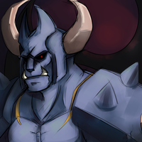 Baal, the Tyrant by CoosCoos
