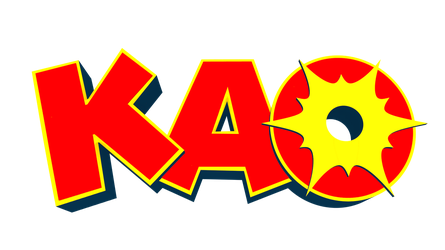 Kao the Kangaroo Logo by Detexki99