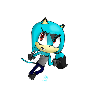 Mona ''Bling'''s New Design by JustSquidsYay