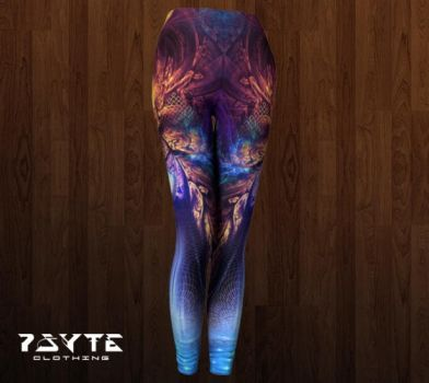Ancient Infinite Leggings by PsyteClothing