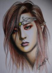 EXO - Elf Prince Chanyeol by duijjang