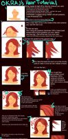Hair Tutorial : Realistic by okraj