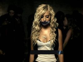 Ashley Tisdale Gagged and Boun by MeaningOfAlone