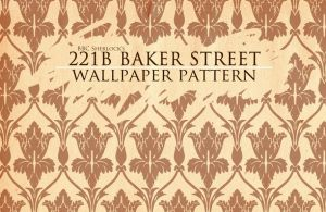 BBC Sherlock wallpaper pattern by vinree