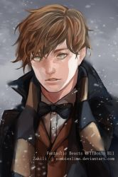 Newt Scamander by zombieslime