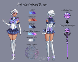 MSP: Sailor Star Eater - Qualifying Round by Pallypie