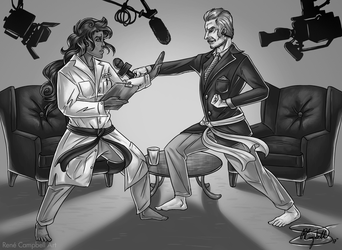The Effective Scientist: The Interview by ReneCampbellArt