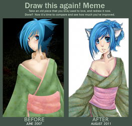 Draw this again Meme by caydett