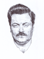Ron Fucking Swanson by characterundefined