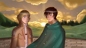 They're All Gone... [ eremin ] by oh-no-Castiel