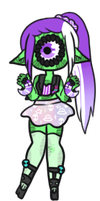 [ tiny alien ] by hello-planet-chan