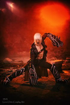 Volcano - Dante Devil May Cry 3 Cosplay Art by LC by LeonChiroCosplayArt