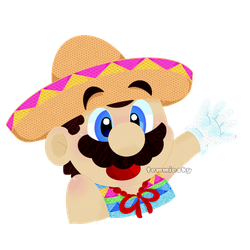 Just... Mexican Mario by TemmieSkyie