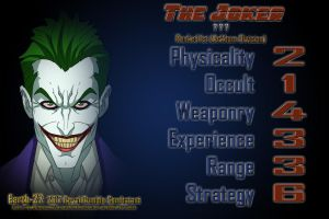 [Earth-27 Royal Rumble 2017 Stats] The Joker by Roysovitch