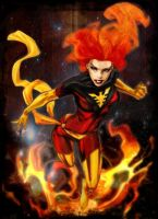 Dark Phoenix by exorcisingemily