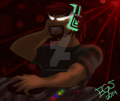 .:: Minecraft: DJ Brine ::. by Dark-Genesys