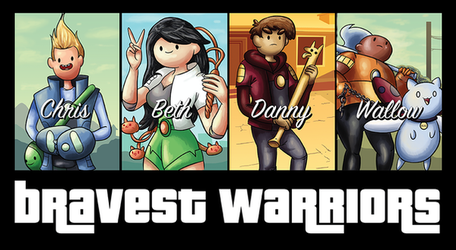 Grand Theft Warriors - Tee Design by xkappax