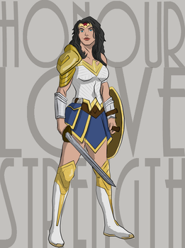 Wonder Woman by cspencey