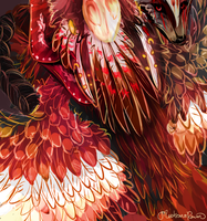 Fire Feathers by MischievousRaven