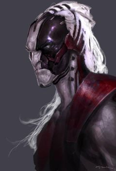 Thor: The Dark World- Malekith08 by andyparkart