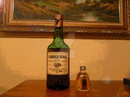 Whisky Chequers and Mini Something Special by AddyOosaki