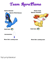 Pokemon super mystery dungeon sheet by BluethornWolf