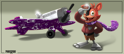 Foxy Fighter by PinkyPills