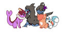 My Pokemon Team by Redthepanda98