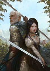THE SWORD KEEPER by InaWong