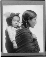 Native American Woman c. 1910 by Step-in-Time-Stock