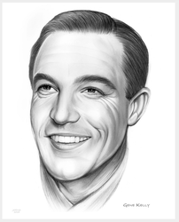 Gene Kelly - Sketch of the Day by gregchapin