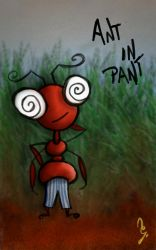 ant in pant by goutham9986