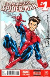 Amazing Spider-Man #1 sketch cover by ToddNauck