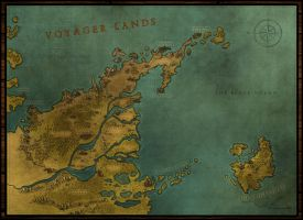 Voyager Lands -  Regional Map by PicanteSemmy