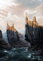 The Argonath by OXISO