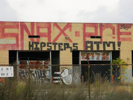 Hipster Graffiti by EndOfGreatness
