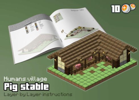 HUM - Pig Stable by spasquini