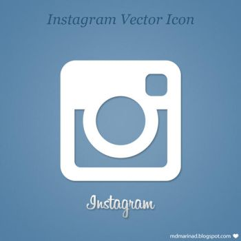 FREE Instagram Vector Icon Logo by MarinaD