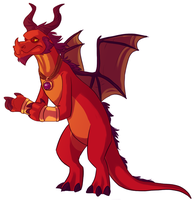 Spyro - Red the Dream Weaver by Shaiger