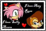 Amy and Sally- Stamp by AllytheWolffy98