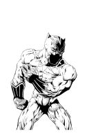 Black Panther by drawhard