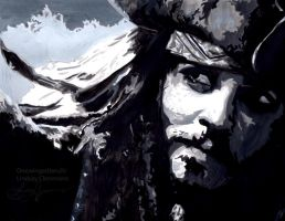 Captain Jack Sparrow by onewingedtenchi