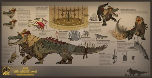 Project Duat - Ammit by Eanny