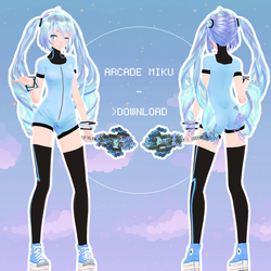 Arcade Miku - UPDATED DL - by NoUsernameIncluded